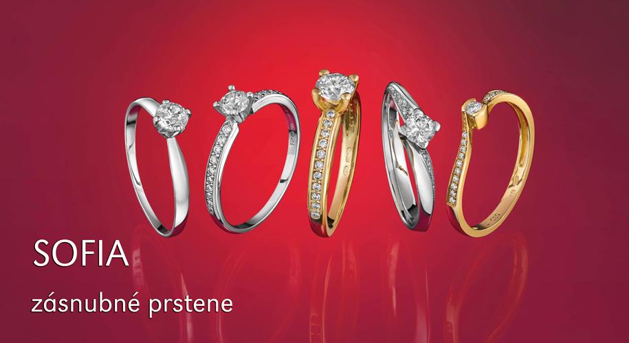 SOFIA Zásnubné prstene