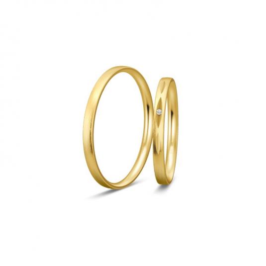 breuning-zlaté-obrúčky-BR48/04332YG+BR48/04331YG