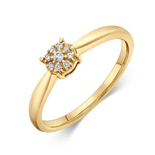 sofia-diamonds-prsteň-zlato-diamant-UDRG50435YG