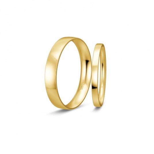 breuning-zlaté-obrúčky-BR48/50103YG+BR48/50104YG