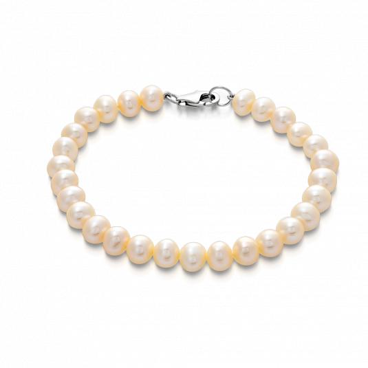 sofia-strieborný-náramok-perlový-PPWHFPS6,5-7