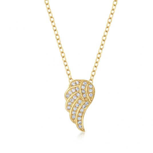 sofia-strieborný-náhrdelník-pozlátený-IS028CT012YG