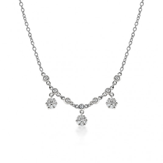 sofia-strieborný-náhrdelník-CAMN22314-CZ-SS