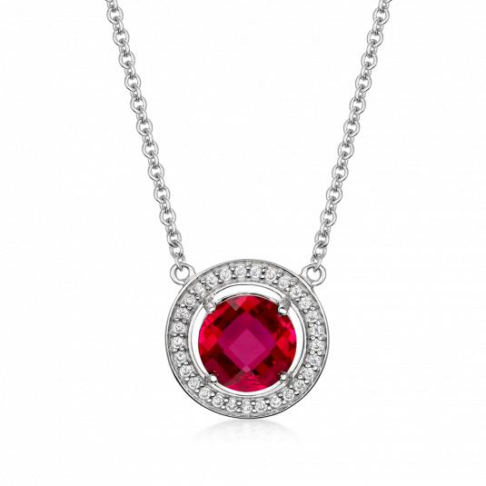sofia-strieborný-náhrdelník-AEAN0290Z,RSYR40+10-detail