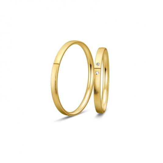 breuning-zlaté-obrúčky-BR48/04330RG+BR48/04329RG