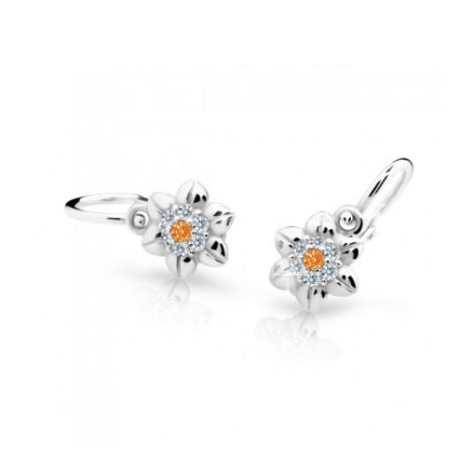 cutie-náušnice-C2202-B-B-oranžová