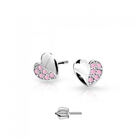 cutie-náušnice-C2160-B-S-ružová