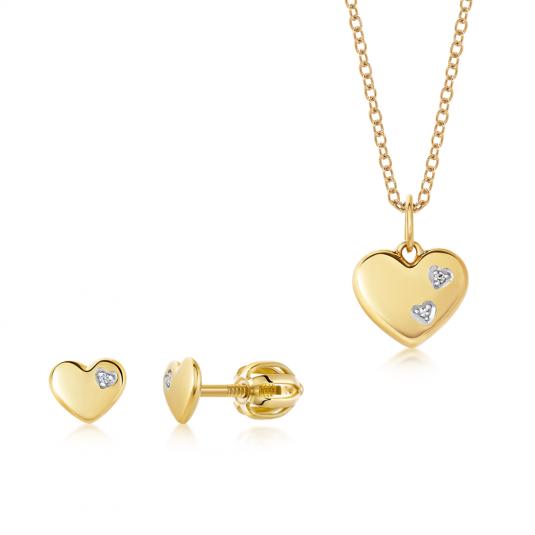 sofia-zlatý-set-srdce