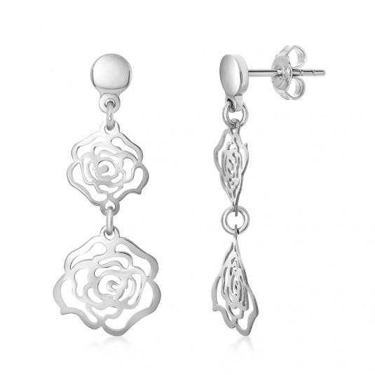strieborné-náušnice-ružičky-AMORF3435