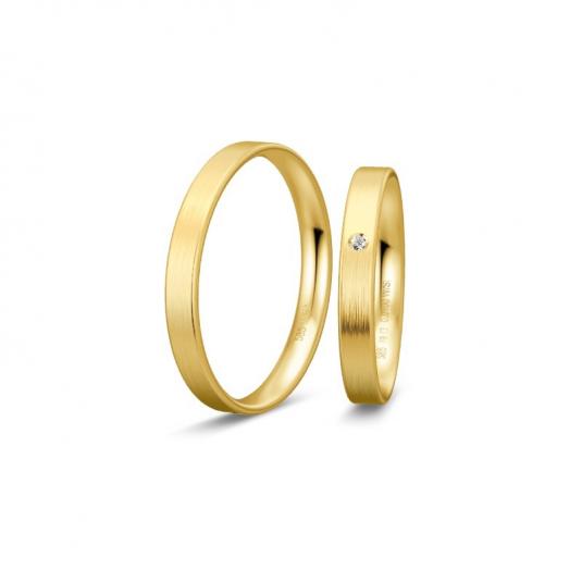 breuning-zlaté-obrúčky-BR48/14401YG+BR48/04401YG