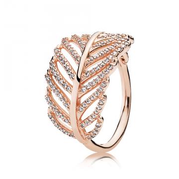 PANDORA Rose prsteň Iskrivé Pierko