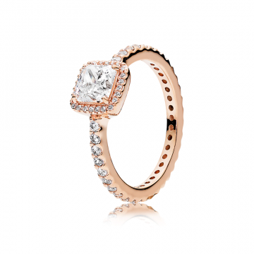 PANDORA Rose prsteň Nadčasová Elegancia
