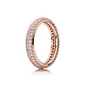 PANDORA Rose prsteň Okázalý Pôvab