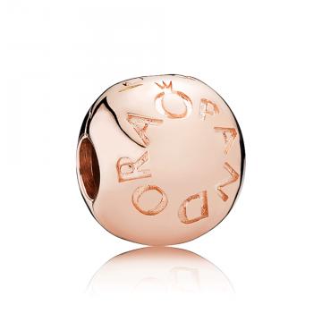 PANDORA Rose klip Logo Pandora