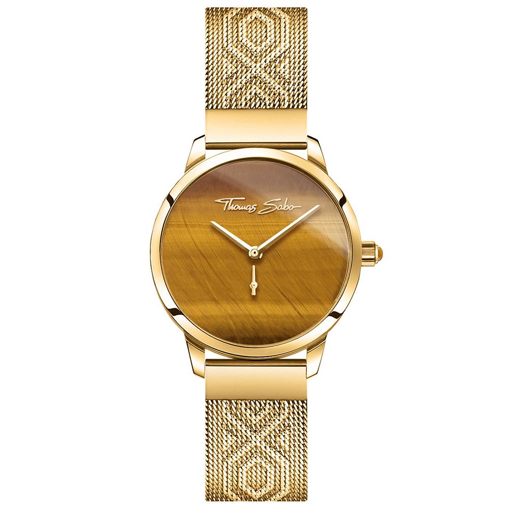 Luxusné hodinky THOMAS SABO Garden Spirit tiger's eye gold